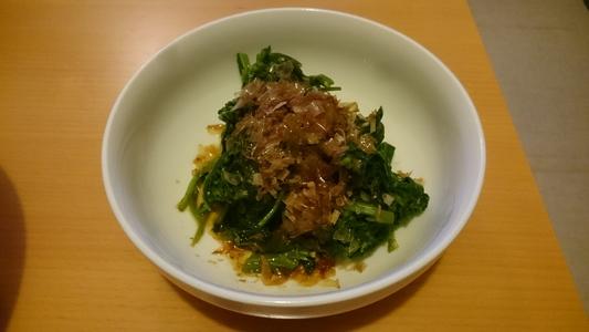 三鷹台の空芯菜 茎菜類 ヒルガオ科 ヨウサイ